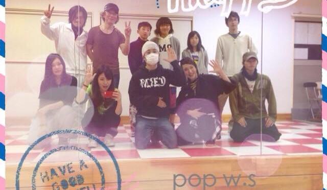 スタジオRAM.にてPOP ワークショップ