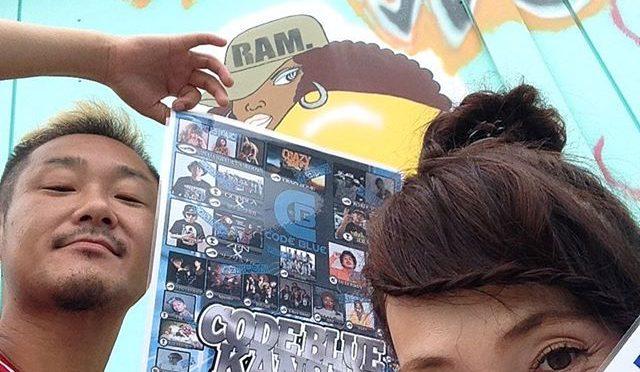 YU-KI BOMBがRAM.に来た